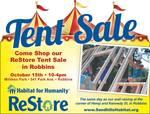 Sandhills Habitat Tent Sale 2