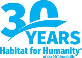 30 Year anniversary cyan logo