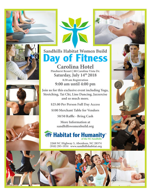 Day of Fitness Flyer