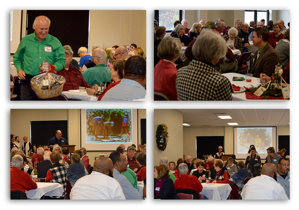 Volunteer Lunch collage