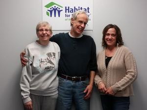 new volunteer Rosalie and Jeff DeMarchi