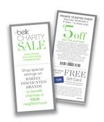 Belks Charity Sales Coupon