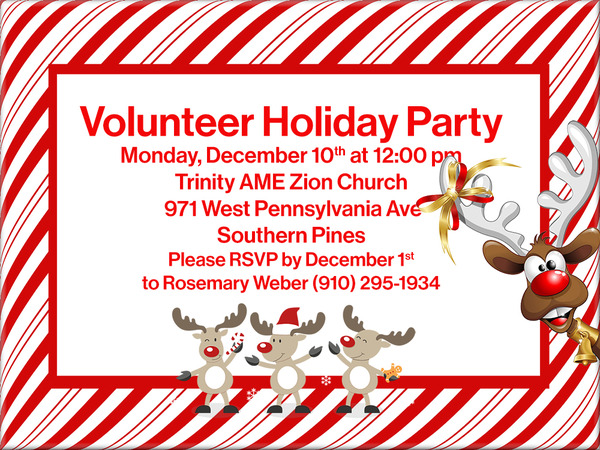Volunteer Holiday Party NS